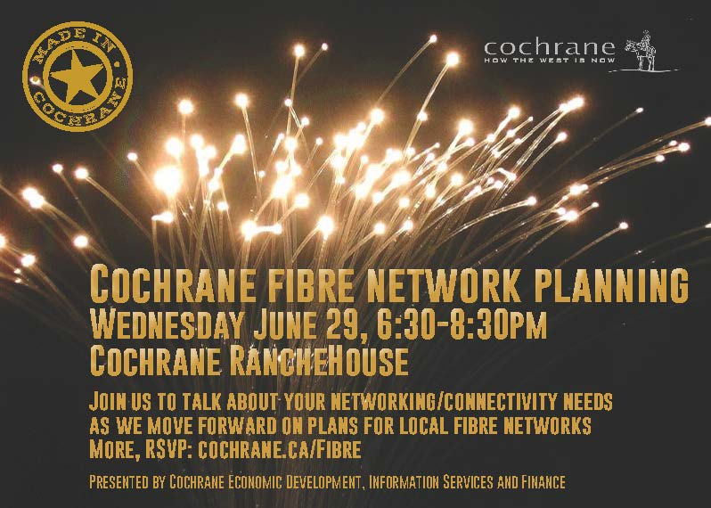 Fibre networking event invite