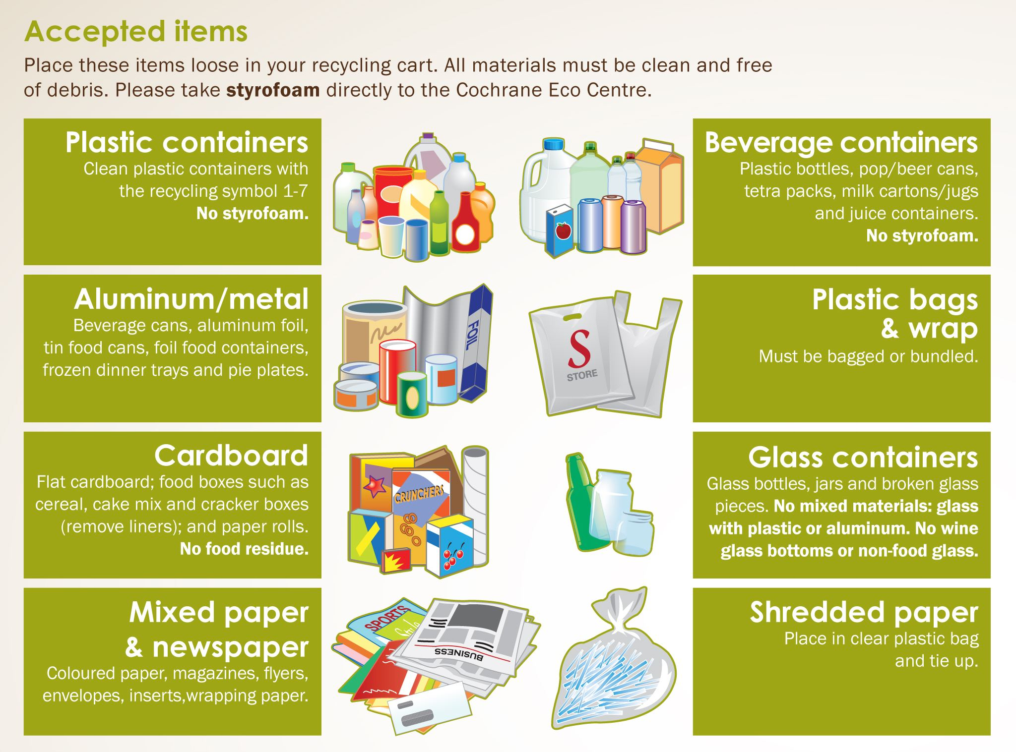 Plastic bags material - Residential Waste Amp Recycling Collection Cochrane Ab