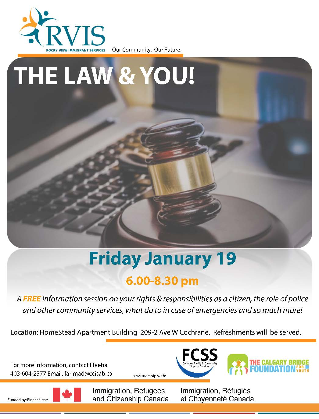 The Law and You RVIS Jan 2018