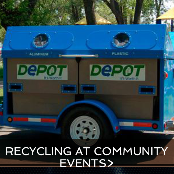 Recycling at Community Events