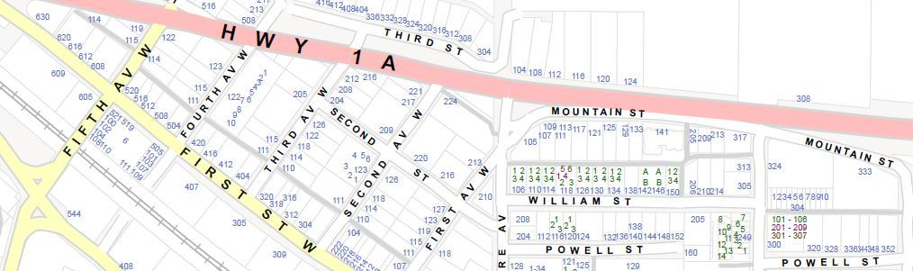 Municipal Address Map Sample (PDF)