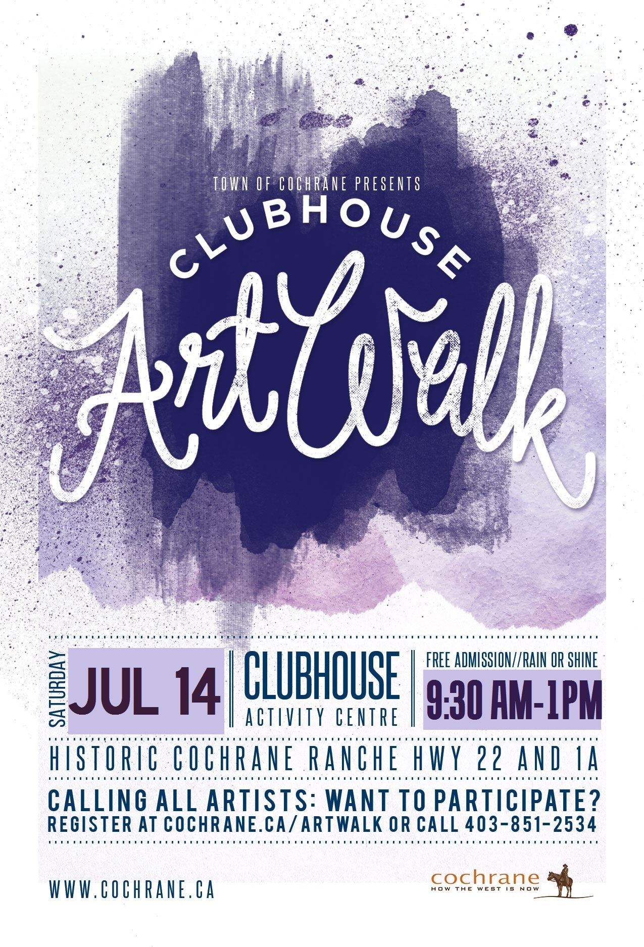 ClubHouse Artwalk July 14