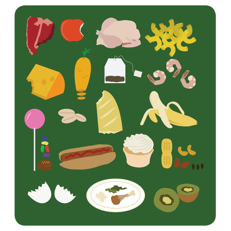 Organics (food) Graphics