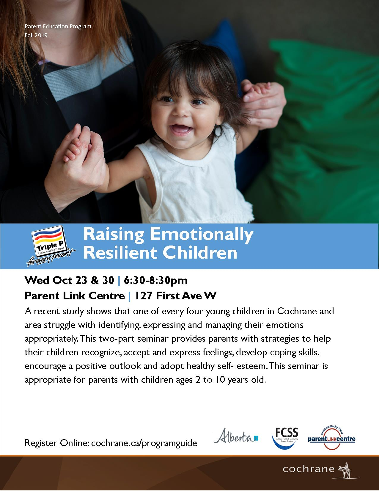 Raising Emotionally Resilient Children 2019