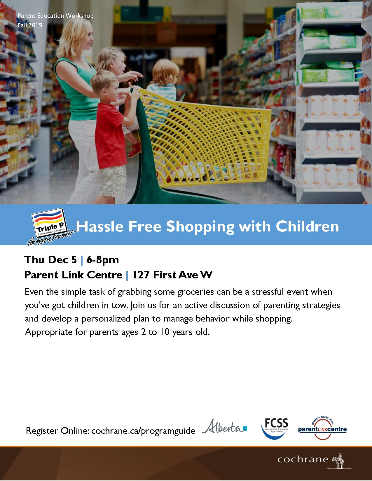 Hassle Free Shopping with Children