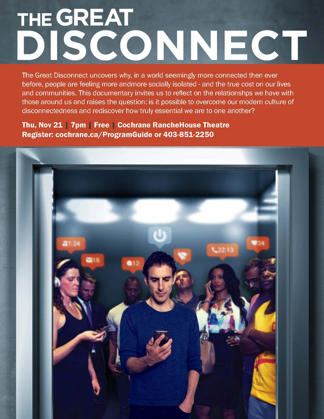 Great Disconnect Poster