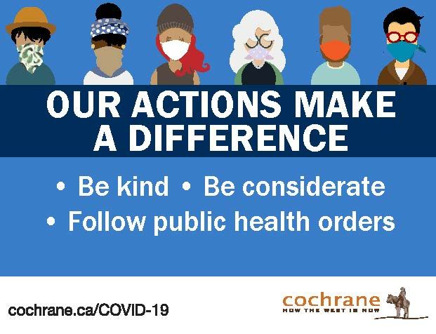Be kind, be considerate, follow public health