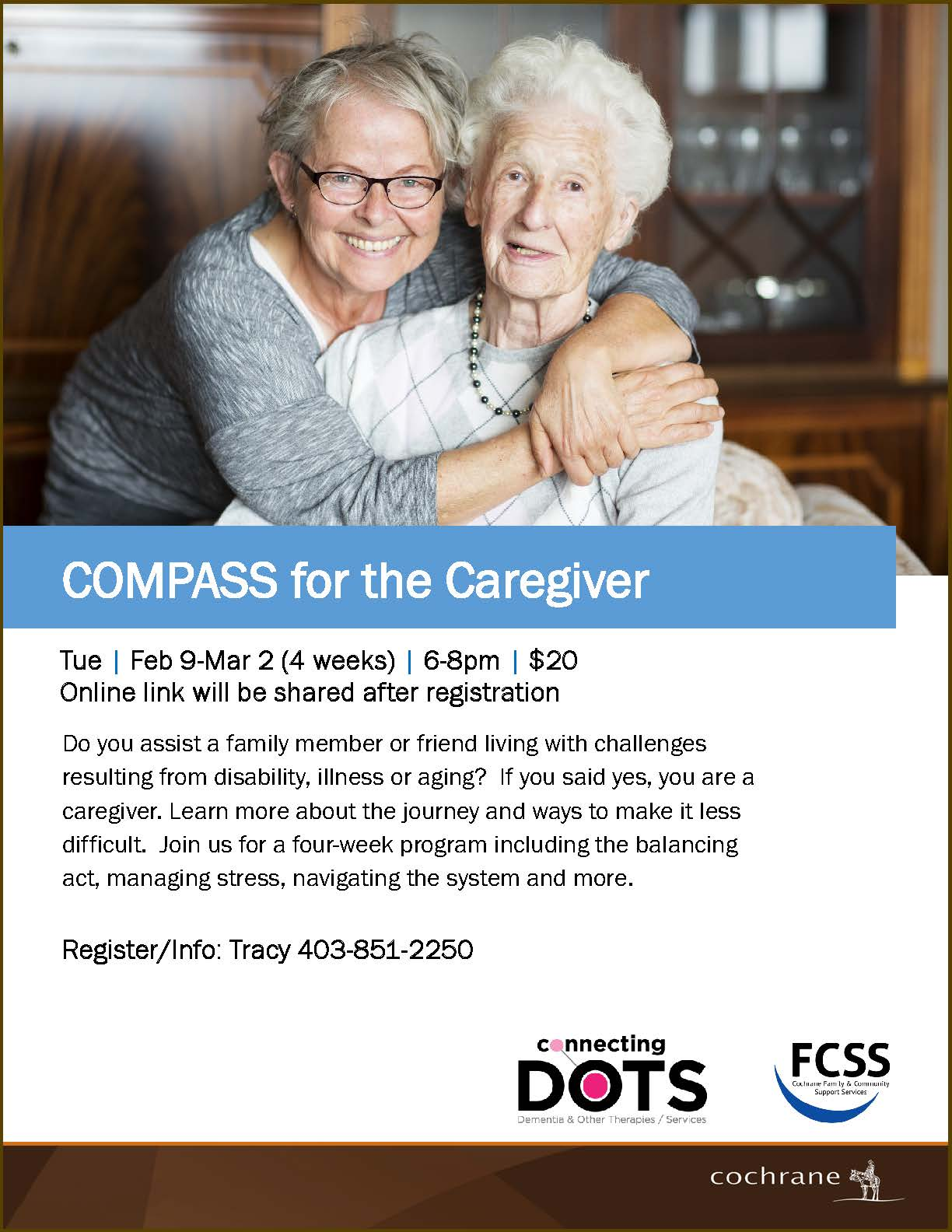 COMPASS for the Caregiver Poster