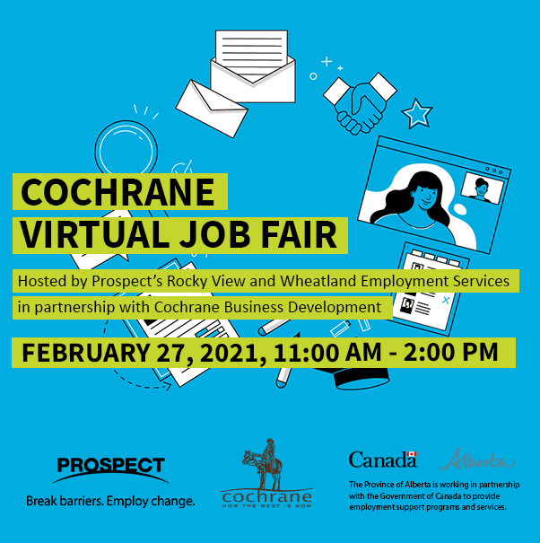 Cochrane Virtual Job Fair - Feb 27 square